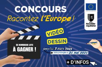 """Concours """"Racontez l'Europe"""""""