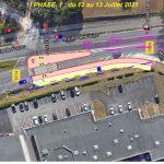 du 12 juillet au 6 août :Travaux d'aménagement routier route de Fourc