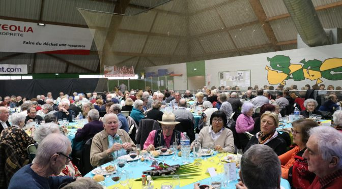 succès du repas des anciens