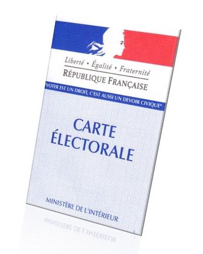 Inscription sur les listes électorales