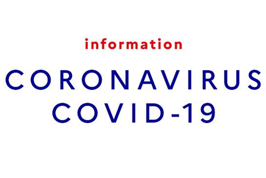 CORONAVIRUS – INFORMATIONS DIVERSES