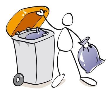 Calendrier modificatif des collectes d'ordures ménagères en mai